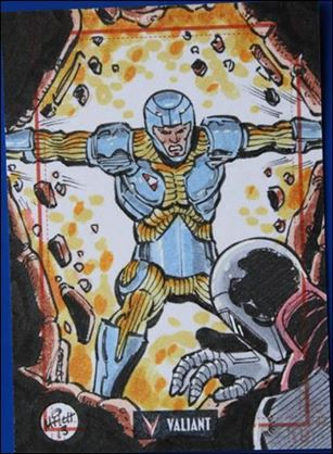 2013 Valiant Comics Preview Trading Card Set (Sketch Card Subset) MB-10-A