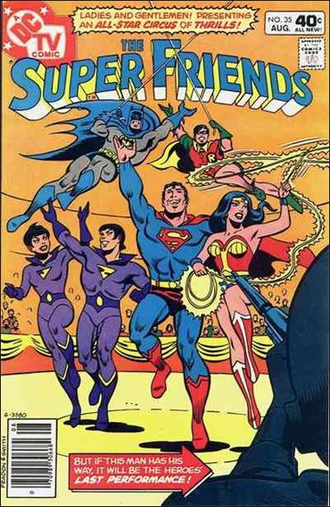 Super Friends (1976) 35-A by DC