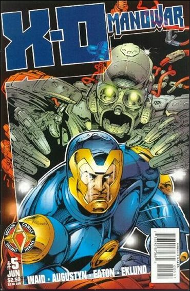 X-O Manowar (1997) 5-A by Acclaim