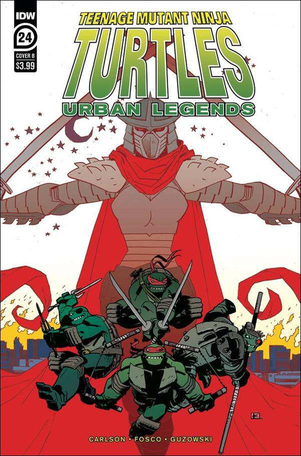 Teenage Mutant Ninja Turtles: Urban Legends 24-B by IDW