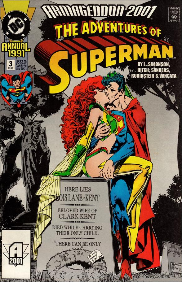 Adventures of Superman Annual 3-A by DC