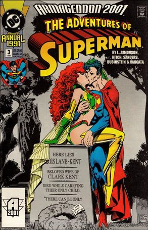 Adventures of Superman Annual 3-A