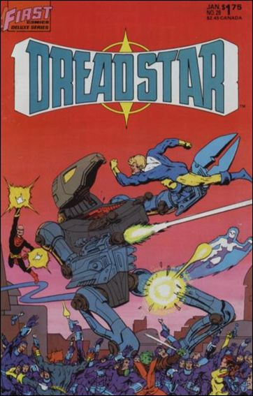 Dreadstar (1982) 28-A by Epic