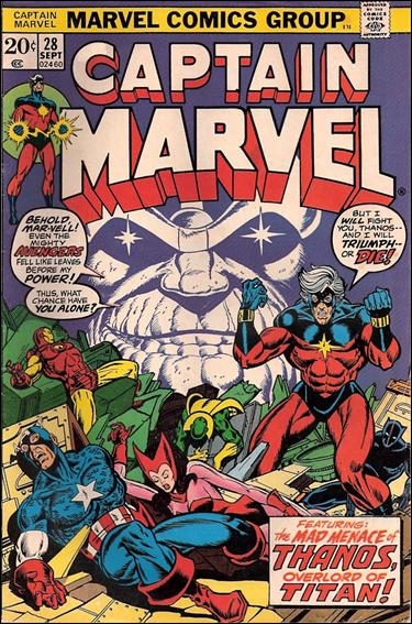 Captain Marvel (1968) 28-A by Marvel