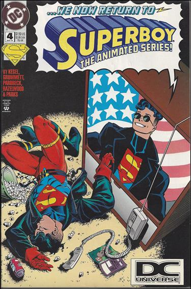 Superboy (1994) 4-B by DC