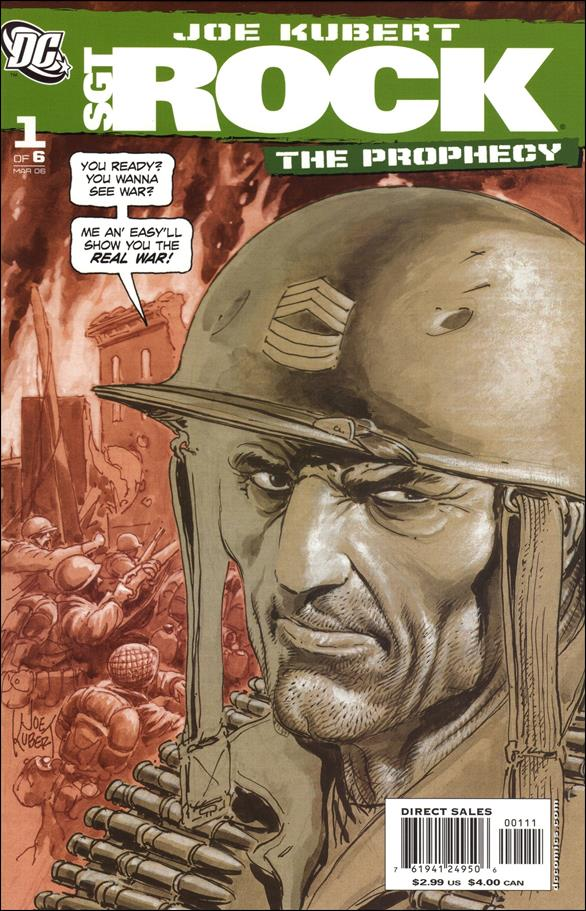 Sgt. Rock: The Prophecy 1-A by DC