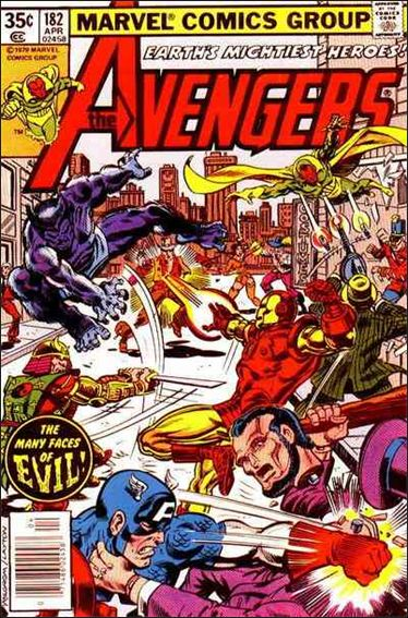 Avengers (1963) 182-A by Marvel