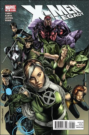X-Men Legacy (2008) 254-A by Marvel