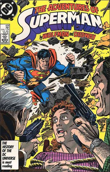 Adventures of Superman (1987) 428-A by DC