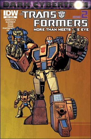 Transformers: More Than Meets the Eye (2012) 23-C
