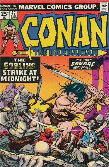 Conan the Barbarian (1970) 47-A by Marvel