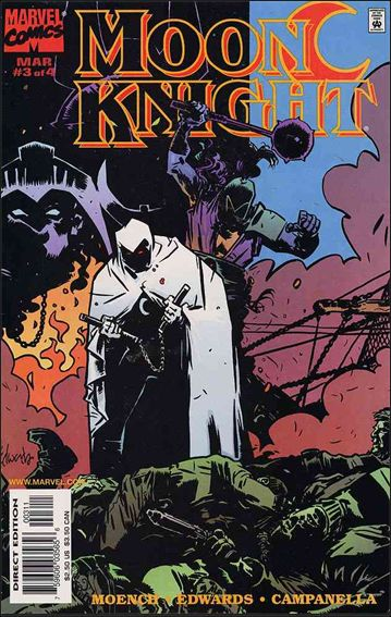 Moon Knight (1998) 3-A by Marvel