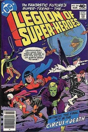Legion of Super-Heroes (1980) 261-A