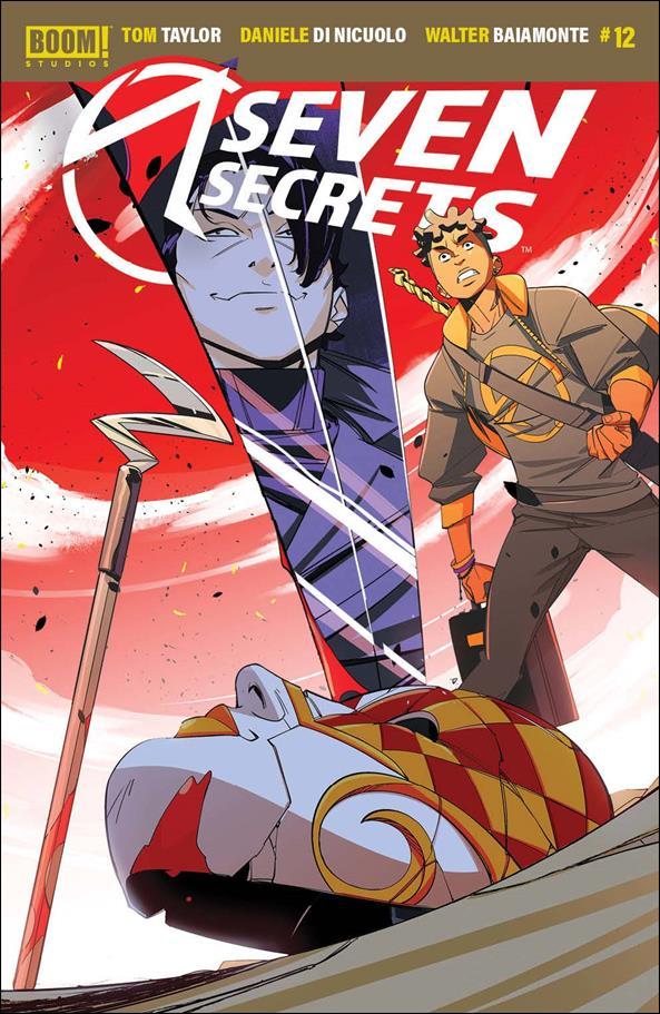 Seven Secrets 12-A by Boom! Studios