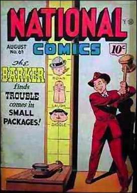 National Comics (1940) 61-A by Quality