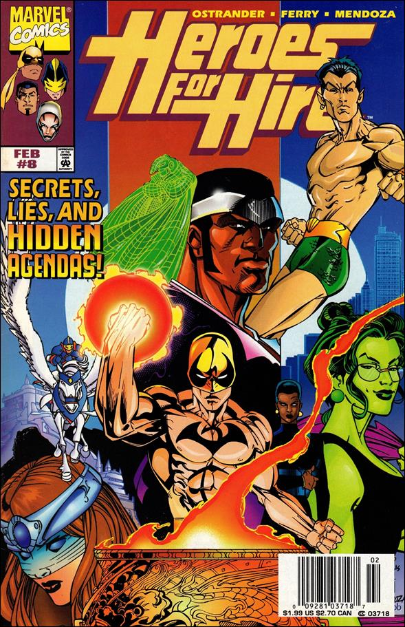 Heroes for Hire (1997) 8-A by Marvel
