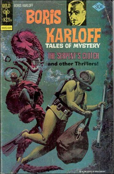 Boris Karloff Tales of Mystery 70-A by Gold Key