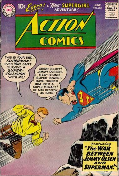 Action Comics (1938) 253-A by DC