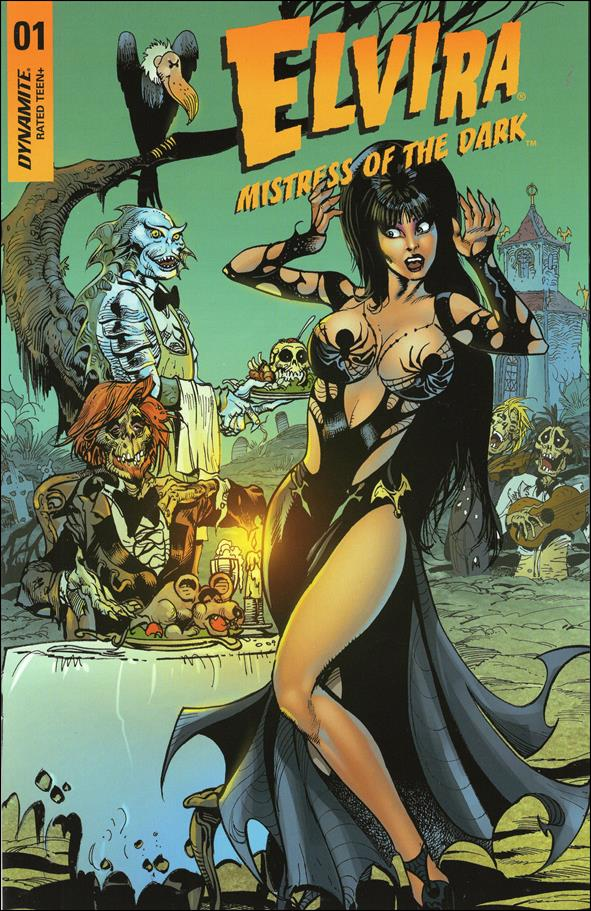 Elvira, Mistress of the Dark (2018) 1-P by Dynamite Entertainment