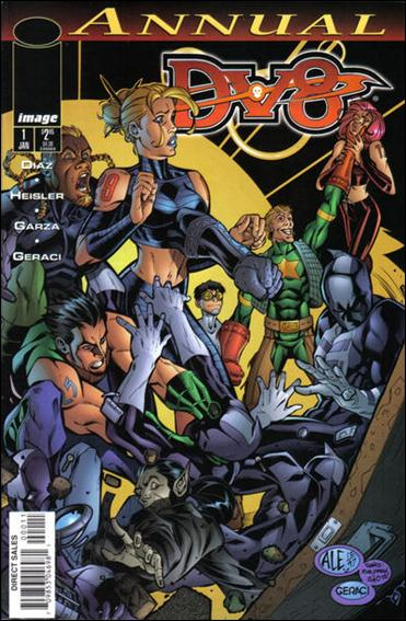 DV8 Annual 1-A by WildStorm