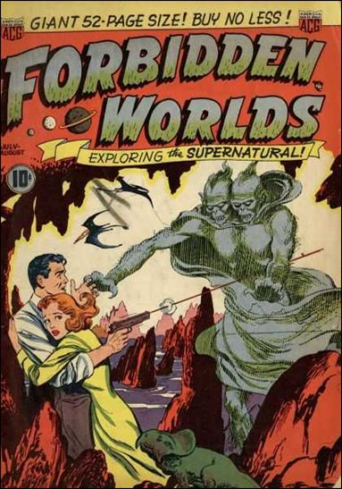 Forbidden Worlds (1951) 1-A by American Comics Group (ACG)