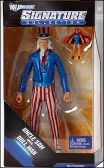 DC Universe: Signature Collection Uncle Sam with Doll Man by Mattel