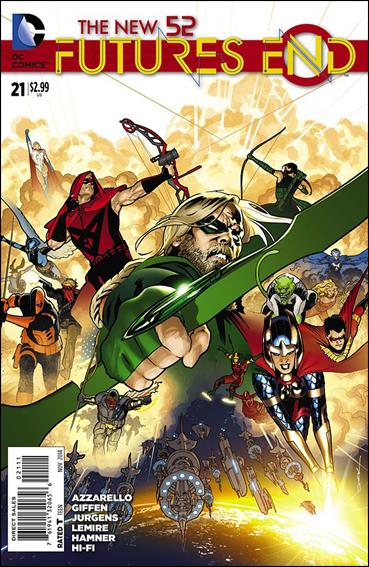New 52: Futures End  21-A by DC