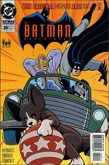 Batman Adventures (1992) 20-A by DC