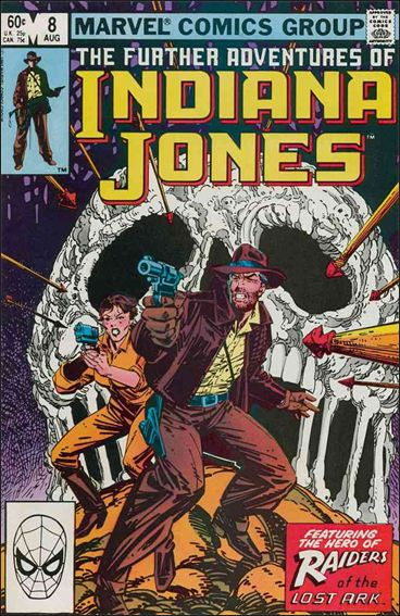 Further Adventures of Indiana Jones 8-A by Marvel