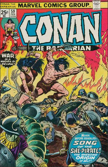Conan the Barbarian (1970) 59-A by Marvel