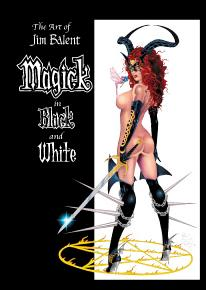Art of Jim Balent, Magick in Black and White 1-A by BroadSword Comics