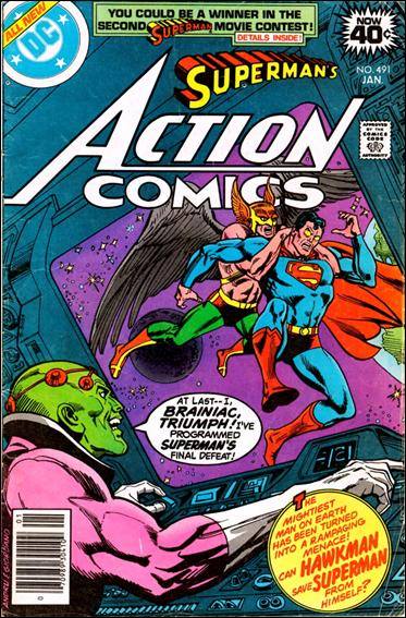 Action Comics (1938) 491-A by DC