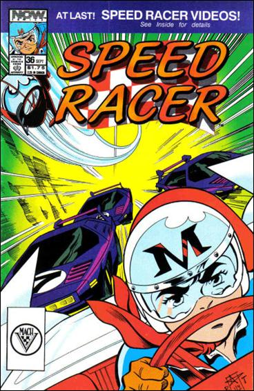 Speed Racer (1987) 36-A by Now Comics