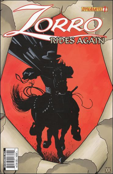 Zorro Rides Again 1-A by Dynamite Entertainment