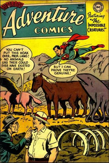 Adventure Comics (1938) 206-A by DC
