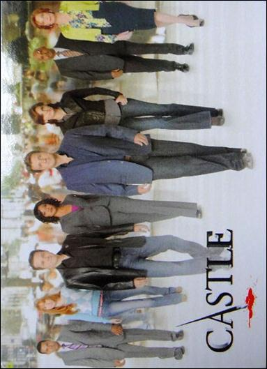 Castle: Seasons 1 & 2 (Promo) P3-A by Cryptozoic Entertainment