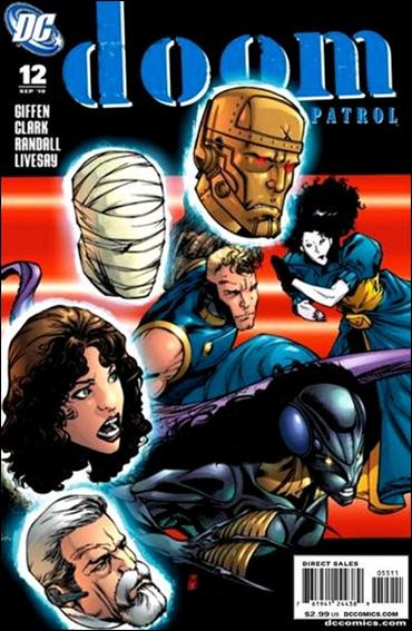 Doom Patrol (2009) 12-A by DC