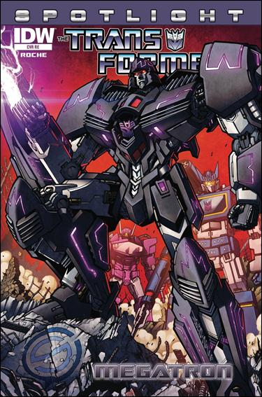 Transformers Spotlight: Megatron nn-D by IDW