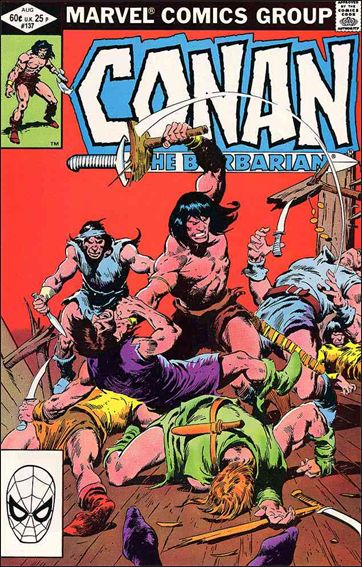 Conan the Barbarian (1970) 137-A by Marvel