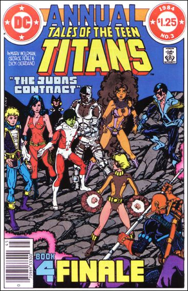 Tales of the Teen Titans Annual 3-A by DC