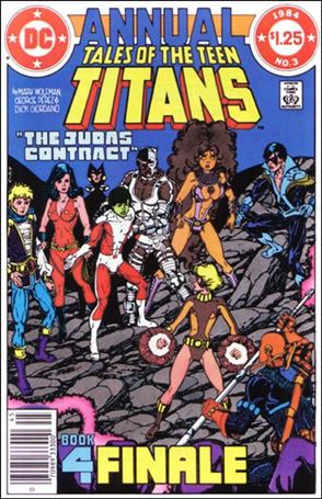 Tales of the Teen Titans Annual 3-A