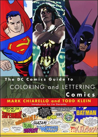 DC Comics Guide to Coloring and Lettering Comics nn-A by Watson-Guptill