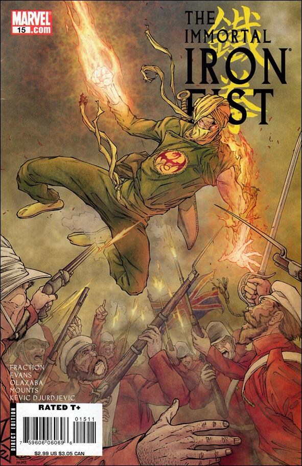 Immortal Iron Fist 15-A by Marvel