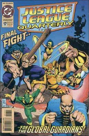 Justice League Quarterly 17-A