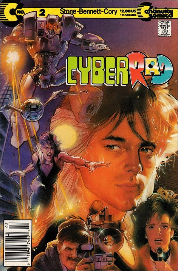 CyberRad (1991) 2-A by Continuity Comics