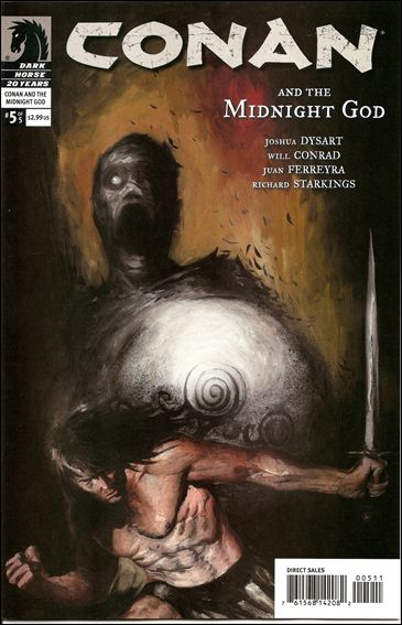 Conan and the Midnight God 5-A by Dark Horse