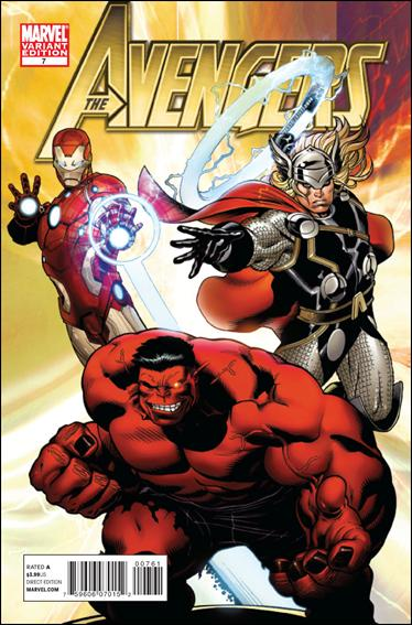 Avengers (2010) 7-C by Marvel