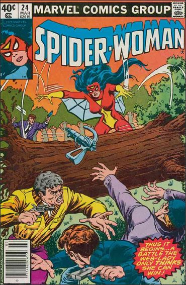 Spider-Woman (1978) 24-A by Marvel
