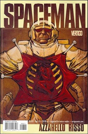 Spaceman (2011) 8-A