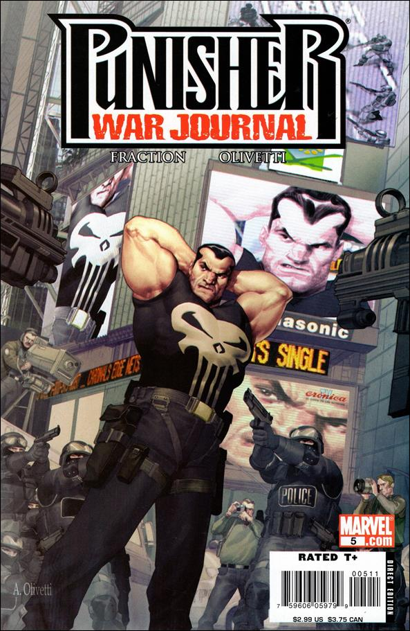 Punisher War Journal (2006) 5-A by Marvel